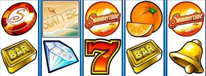 microgaming mega moolah summer time slot machine